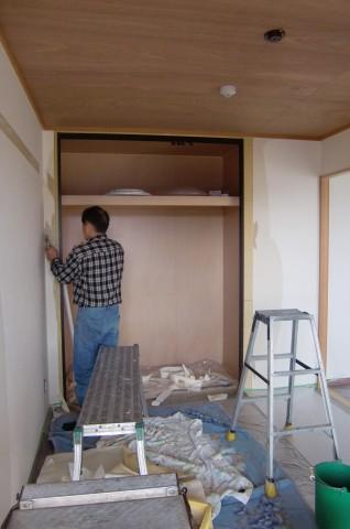 マンション壁紙張替え工事