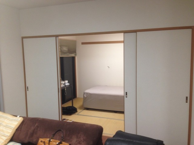 福岡市 内装工事 和室から洋間