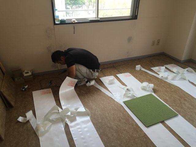 床暖房 リフォーム 福岡