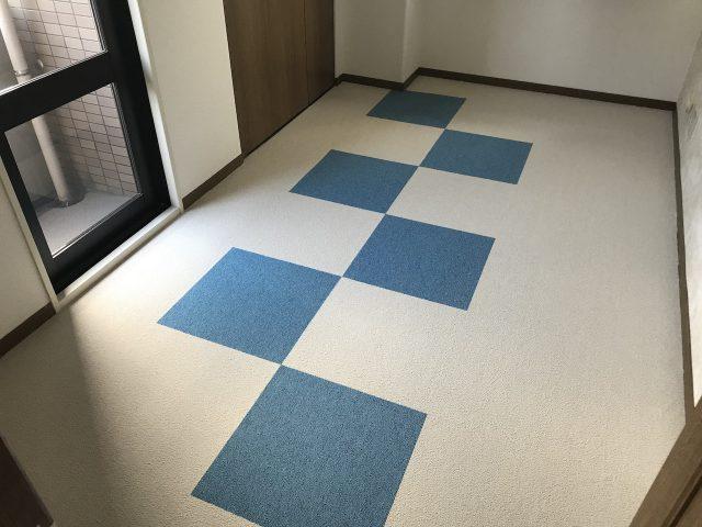 子供部屋 タイルカーペット 福岡