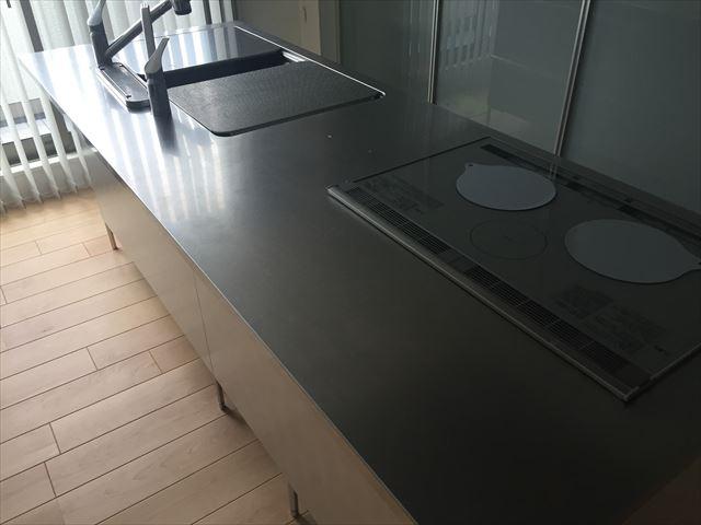 キッチン天板 施工前