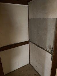 賃貸アパート押入れ補修工事