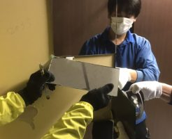 事務所鏡貼替え工事福岡